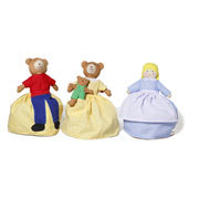 Reversible Goldilocks Doll from Oskar and Ellen