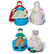 Reversible Little Red Riding Hood Doll by Oskar and Ellen