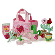 Soft Gardening Play Set Toy by Oskar and Ellen