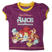 Alice in Wonderland T-Shirt by Fabric Flavours