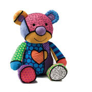Britto Pop Plush Tallulah Teddy Bear (Medium)