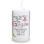 EXCLUSIVE - Merry Christmas Godmother Candle