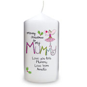 EXCLUSIVE - Merry Christmas Mummy Candle