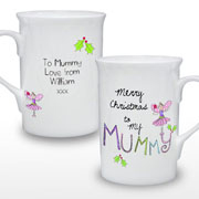 Mummy Personalised Christmas Mug