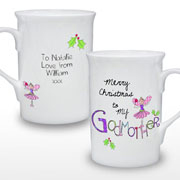 EXCLUSIVE - Merry Christmas Godmother Mug