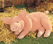 Arnold the Snoring Pig by Gund