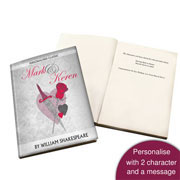 Personalised Romeo and Juliet Novel