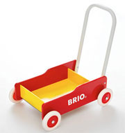 Brio Toddler Wobbler - Red/Yellow