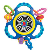 Busy Swirls Activity Toy by Manhattan Toy
