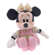 Patchwork Minnie Rag Doll