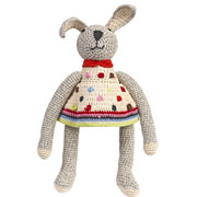 Anne Claire Petit Organic Cotton Crochet Bunny Toy
