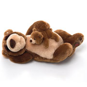 Snoring Bear and Little Bear by Gund