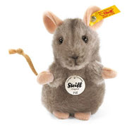 Steiff Piff Grey Mouse Soft Toy