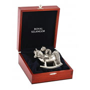 Rocking Horse Trinket Box by Royal Selangor