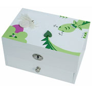 Princess and Dragon Personalised Jewellery Box