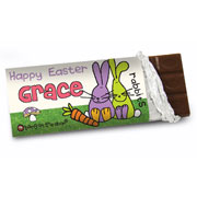 Bang on the Door Easter Bunny Chocolate Bar - Free Delivery