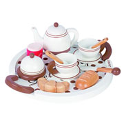 Wooden Breakfast Set by Janod