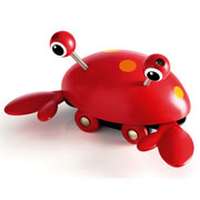 Push Along Crab by Brio