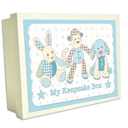 Little Feet Wooden Box Boys Toys - My Keepsake Box