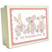 Little Feet Wooden Box Girls Toys - My Keepsake Box