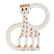 So Pure Sophie the Giraffe Teething Ring (Extra Soft)