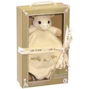 So Pure Sophie the Giraffe Comforter with Soother Holder