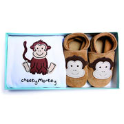 Inch Blue Cheeky Monkey Gift Set