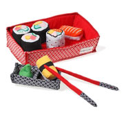 Fabric Sushi Set by Oskar and Ellen