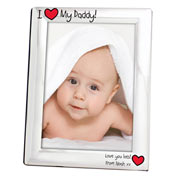 I Heart My Engraved 5x7 Inch Photo Frame