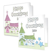 Personalised 'Church' Invitations