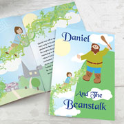 Jack and the Beanstalk Personalised A4 Book