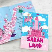 Personalised Princess Story Book - Free Delivery