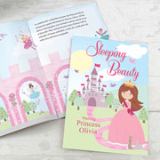 Personalised Sleeping Beauty Book - Free Delivery