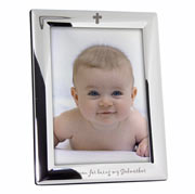 Silver Plated Godmother Frame - Non Personalised