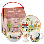 Old MacDonald's Farm China Breakfast Set