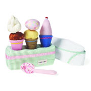 Fabric Ice Cream Set by Oskar and Ellen