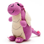 Pebble Mulberry Fair Trade Dragon Soft Toy