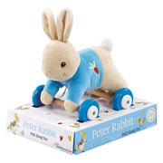 Peter Rabbit Pull Along Soft Toy Rainbow Designs