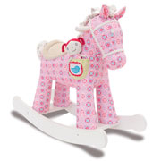 Ruby and Belle Infant Rocking Horse