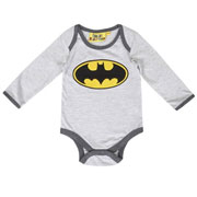 Batman Fleece Babygrow by Fabric Flavours