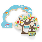 Treetop Friends Wooden Nesting Tree Puzzle