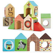 Alphabet Zoo ABC Houseblocks by Skip Hop