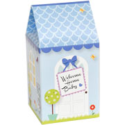 Welcome Home Baby House - Blue
