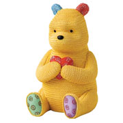 Winnie the Pooh Knitted Money Bank