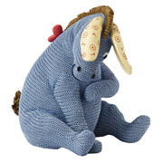Eeyore Knitted Money Bank