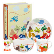 A Long, Long Time Ago Dinosaur Breakfast Set