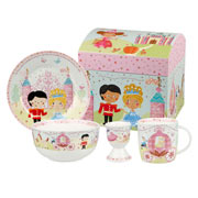 Cinderella 4 Piece China Breakfast Set