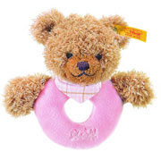 Steiff Sleep Well Grip Toy - Pink