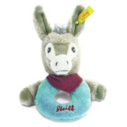 Steiff Issy Donkey Grip Toy Rattle