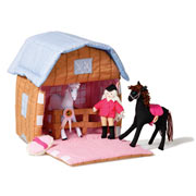 Pony Stable by Oskar and Ellen